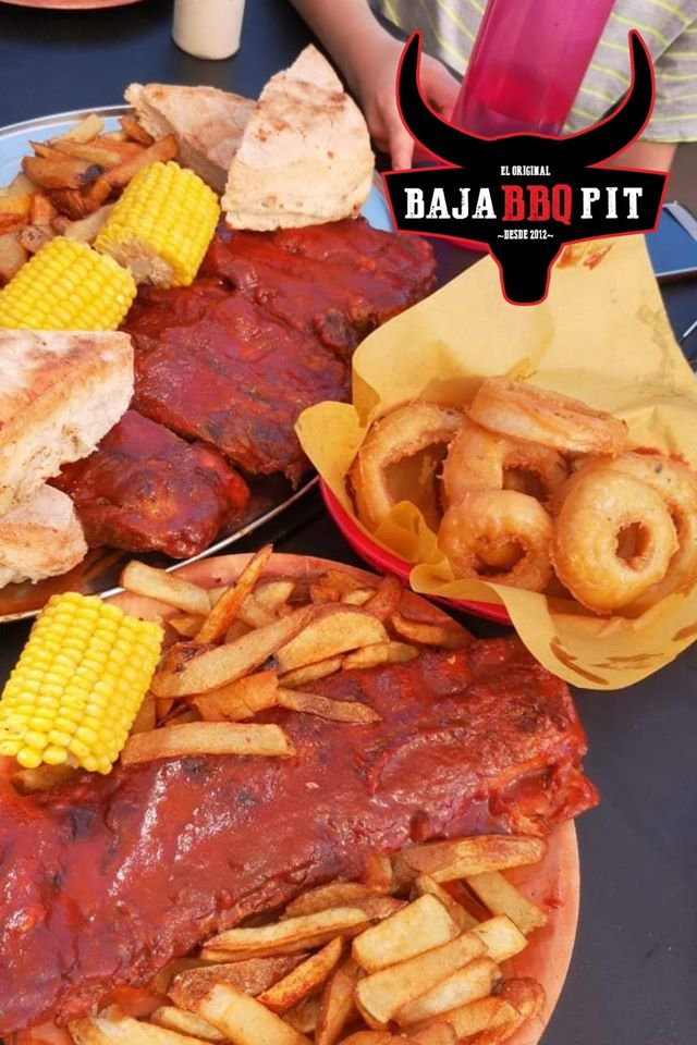 Baja BBQ Pit Tijuana Sabor para llevar