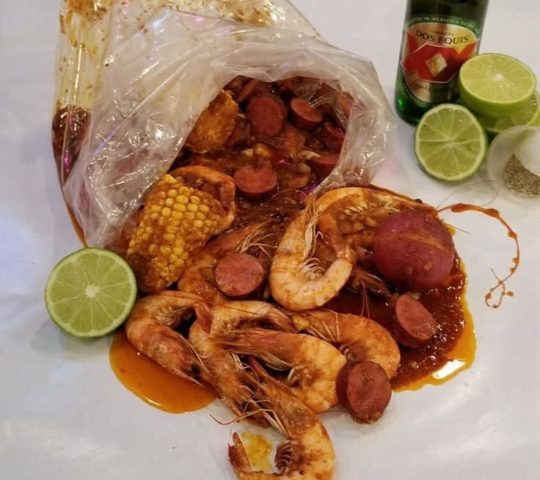 G Shrimp Rosarito Beach «Louisiana Shrimp House»