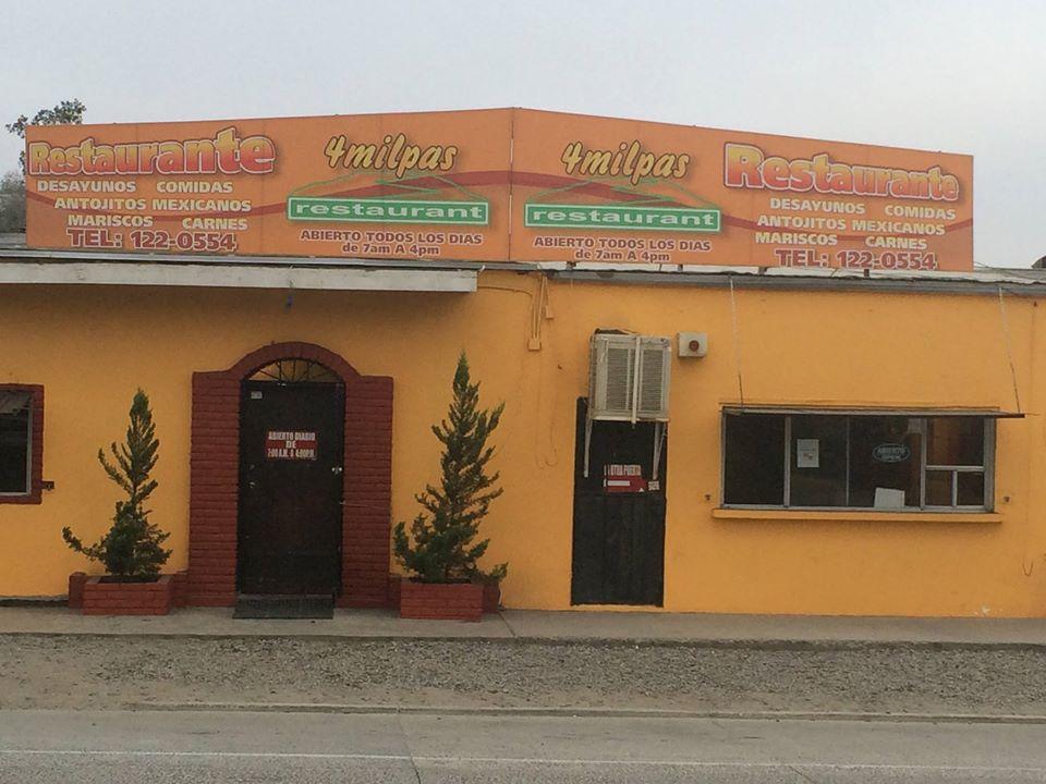 Restaurante 4 Milpas Tecate Sabor para llevar