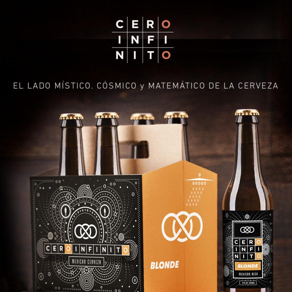 Cero infinito cerveceria Tijuana Sabor para llevar