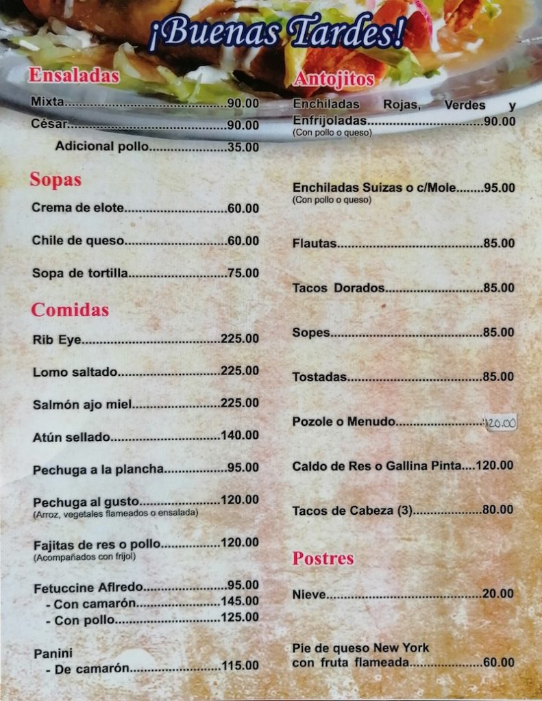 Divino Restaurante Tijuana Sabor para llevar